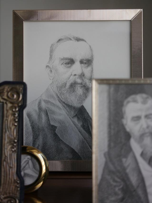 Portrait Zeichnung John Singer Seargent
