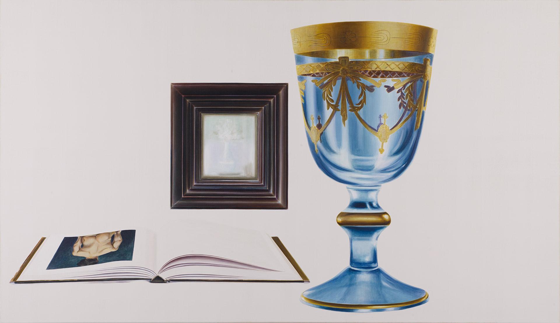 Marcel Glanzmann – Malerei – Grosses Glas