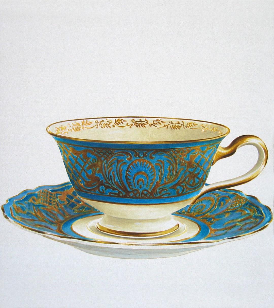 Marcel Glanzmann – Malerei – Tassen