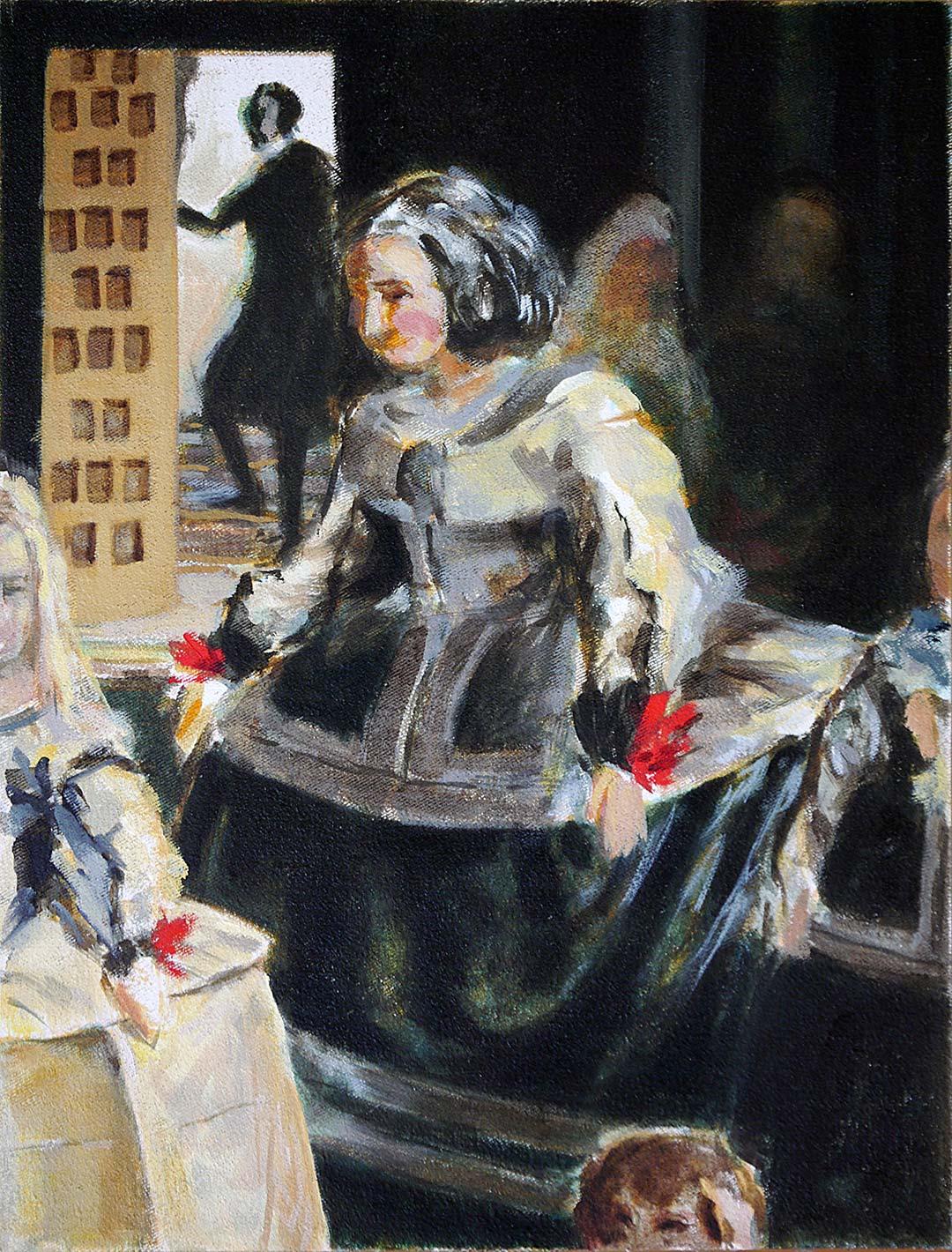 Marcel Glanzmann – Malerei – Meninas